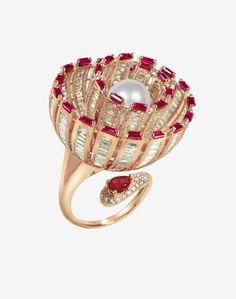 Flower ring by Writtek