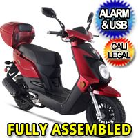 Znen 50cc 4 Stroke Gas Moped Scooter - Q50 Gas Moped, 50cc Moped, Moped Motorcycle, Trike Scooter, Moped Helmets, Pink Moped, Motorized Trike, Mopeds For Sale, Scooter Custom