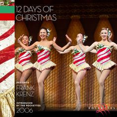 "This candy cane-inspired costume from our ""Twelve Days of Christmas"" number is one of our favorites! Read all about it!"