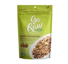 Go Raw 100 Organic Apple Cinnamon Granola Cereal 16Ounce Bags Pack of 2 >>> You can get additional details at the image link. Note: It's an affiliate link to Amazon.
