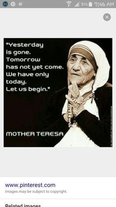 Mother Teresa Prayer Quotes, Wisdom Quotes, Quotes To Live By, Catholic Quotes, Catholic Prayers, Holy Quotes, Great Quotes, Mother Theresa Quotes, Saint Teresa Of Calcutta