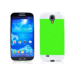 Two-tone Glisten Protective Case for Samsung i9500--Green.100% Brand New and glisten case for Samsung i9500,Perfect fit,Flip cover protects the screen from scratches