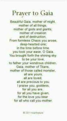 Prayer to Gaia Goddess Of The Hearth, Gaia Goddess, Nature Poem, Magick Book, Magic Herbs, Pagan Art, Celtic Mythology, Buddha Quote, Practical Magic