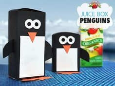 Send these little guys waddling into the lunchbox just in time for Penguins of Madagascar!