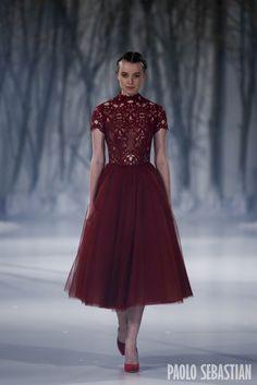 Paolo Sebastian 2016 A|W Couture - The Snow Maiden