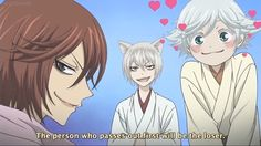 Mizuki is so freak'n adorable & I love Tomoe's sassy look