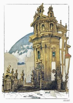 Sketches from Vigo, Spain | Urban Sketchers