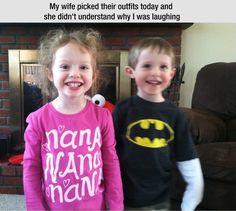Hahaha! Perfection. Batman