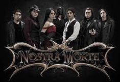 nostra morte band - Google Search Metal Band Logos, Metal Bands, Latest Music, New Music, Metal Sinfônico, Germany And Italy, Symphonic Metal, Best Albums, Dark Side