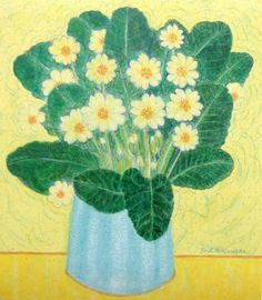 Antrim Primroses – Canns Down Press Sketchbook Inspiration, Flower Art, Floral Art, Painting, Traditional Paintings, Art, Artsy, Card Art, Abstract Decorative Painting