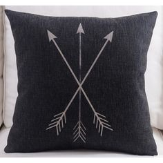 Feather Arrow Magic squares Cotton Linen Throw Pillow Case Cushion... (13 CAD) ❤ liked on Polyvore featuring home, home decor, throw pillows, arrow throw pillow, arrow home decor, square throw pillows and feather throw pillows