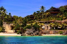 It's the most secluded, beautiful location overlooking one of Asia's most famous, tropical beaches. It's Asya Premier Suites perched on the headland that commands the stunning view down Boracay's famous 4-kilometres of idyllic sand called White Beach. #resort #beach #travel #boracay #philippines  http://thebeachfrontclub.com/beach-hotel/asia/philippines/boracay-island/white-station-south/asya-premier-suites/
