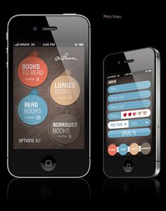 Mobile APPs and Website for OldBooth / 2010-2011 by Michael Tomaka, via Behance