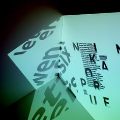 NOKIA PURE / TYPOGRAPHY BOOK by Troy Hyde, via Behance