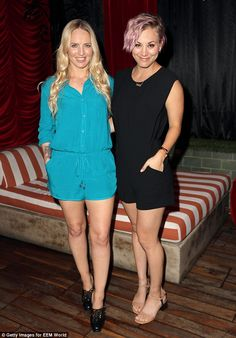 She's LEG-endary! The popular actress flaunted both her arms and legs in the cute, summery...