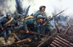 French infantry  (author unknown)