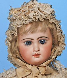 120: EMILE DOUILLET FRENCH BEBE IN FACTORY COSTUME : Lot 120