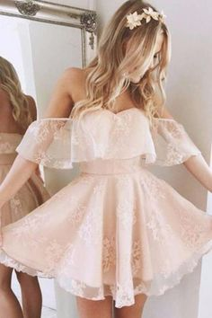 Homecoming dresses short - pink off the shoulder short school event dress applique tulle homecoming dress sweetheart strapless evening dress party – Homecoming dresses short Dresses Short, Prom Dresses 2018, Event Dresses, Formal Dresses, Bridesmaid Dresses, Sexy Dresses, Wedding Dresses, Dress Prom, Wedding Themes