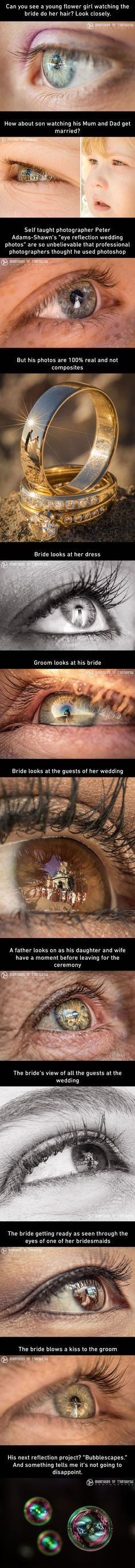 This brilliant photographer has taken reflection photos to a whole new level - - More memes, funny videos and pics on Creative Photography, Amazing Photography, Photography Tips, Portrait Photography, Photography Hashtags, Photography Courses, Photography Backdrops, Photography Composition, Wedding Photography