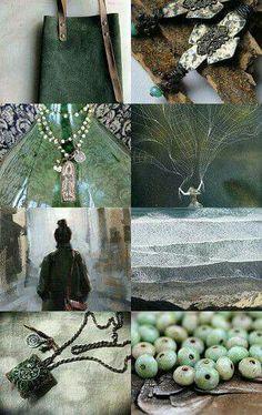 Beautyful......green and grey #mastertheartofsoulfulbranding   #moodboardchallenge