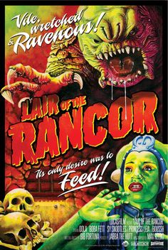 Yes! THIS! Star Wars Lair of the Rancor Fine Art Lithograph