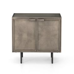 Bedroom | SUNBURST CABINET NIGHTSTAND
