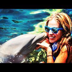 Nadar con delfines! <3