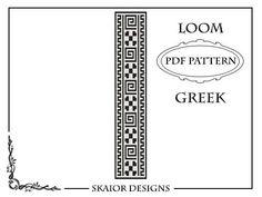 Loom Beading Pattern Loom Bracelet Geometric Seed Beads by skaior