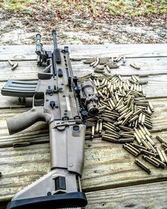 RAE Magazine Speedloaders will save you! Weapons Guns, Guns And Ammo, Rifles, Fn Scar, Battle Rifle, Fire Powers, Military Guns, Airsoft, Assault Rifle