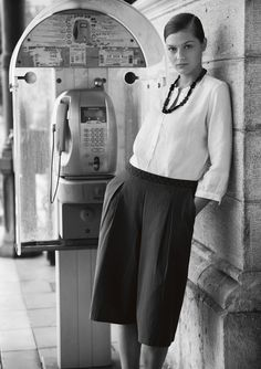Corporate Summer Fashion. FRENCH STRIPE CULOTTES | TOAST
