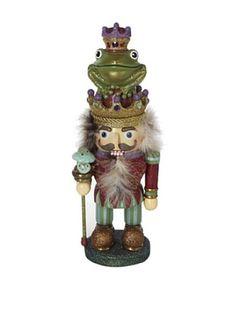 Kurt Adler Prince Frog Nutcracker