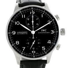 IWC Portuguese Chrono Automatic Steel Mens Watch IW371438