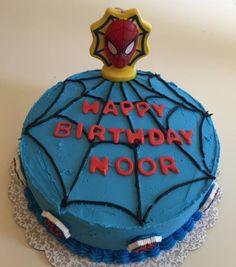 Spiderman Cake by Paula W.