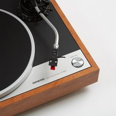 Wooden Cased Turntable