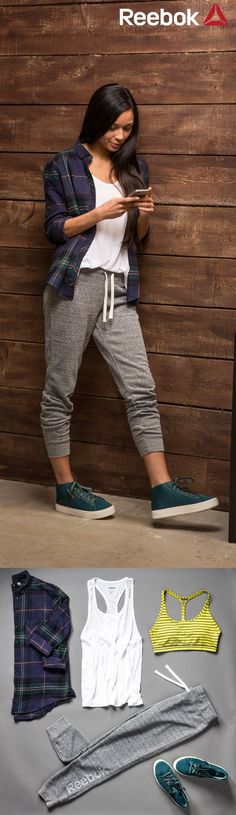 7 cool school outfits with sweatpants                                                                                                                                                                                 More