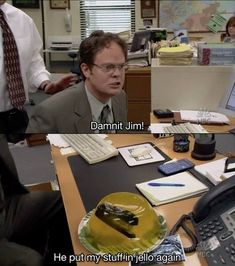 Stuff in Jello #Funny, #Jello, #Jelly, #Office