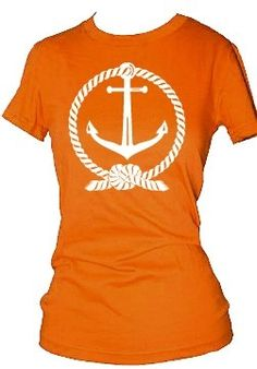 Nautical Boat Anchor and Rope TShirt or Onesie by CustomKingdom - StyleSays