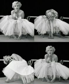 Marilyn the Ballerina - love this!
