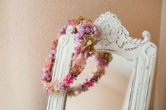Corona de #floresenelcolumpio #wedding #corona #bride #novia