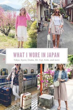 Every Outfit I Wore in Japan — bows & sequins Japan Travel Guide: What to Wear Japan Spring Outfit Travel, Japan Spring Fashion, Spring Outfits Japan, Fashion Style Summer, Japan Outfits, Summer Outfits, Tokyo Fashion, Travel Fashion, Summer Travel