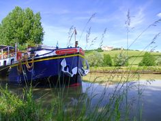 """Like"" this photo if you would ""Like"" to cruise through the pretty Burgundy countryside aboard hotel barge L'Impressionniste next spring!"