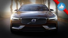 2015 Volvo Concept Estate revealed ahead of 2014 Geneva Motor Show with styling and interior design pointing towards new XC90 SUV.