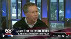 John Kasich, the GOP Establishment's latest pawn, has gone completely tone-deaf -- promising amnesty in his first 100 days as president. The Establishment once again shows their true colors.  We must enforce our immigration laws and protect American citizens first!  Watch VIDEO