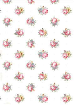 Miniature Printables - Wallpaper by Cath Kidston.