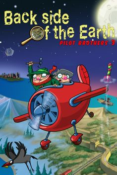 Back side of the Earth: Pilot Brothers 3, a sequel to the humorous puzzle adventure is now available on iPad and iPhone as a full paid app!  The famous detective duo needs your help in a new exciting investigation! This time they embark on a dangerous trip around the globe to save the population of blue-striped elephants from extinction. iPhone https://itunes.apple.com/app/id736062886?mt=8 iPad https://itunes.apple.com/app/id736063406?mt=8
