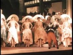 """Scenes from """"Gold Diggers of Broadway"""" (1929) Lost color musical!"""