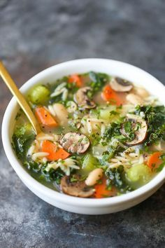 Soup Cleanse, Cleanse Recipes, Soup Recipes, Chicken Recipes, Cooking Recipes, Healthy Recipes, Cleanse Detox, Health Cleanse, Healthy Soups