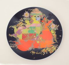 Rosenthal Bjorn Winblad Plate 1001 Nights Danish by HearthsideHome
