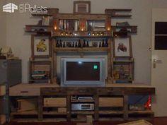 High Table Or Bar Table DIY Pallet BarsPallet Desks & Pallet Tables