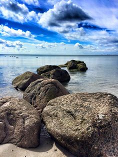 Baltic Sea Fehmarn by Diana Grossert #travel #rocks #Fehmarn #balticsea